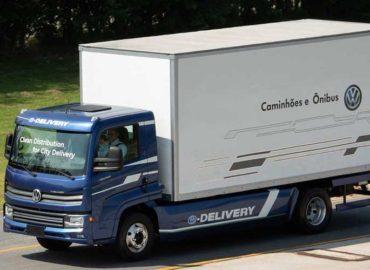 Caminhão elétrico e-Delivery da Volskwagen realiza testes em condições reais