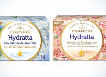 Francis relança a linha Francis Hydratta com duas fragrâncias inéditas